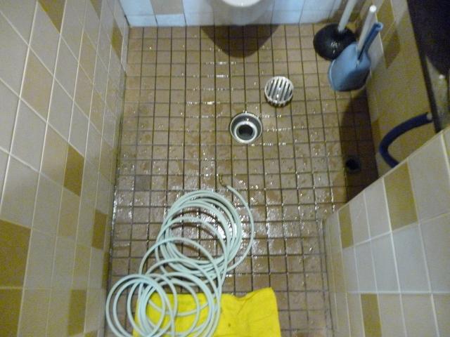 排水管高圧洗浄|奈良