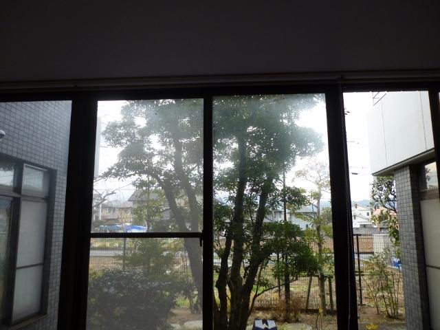 奈良で窓ガラスの掃除