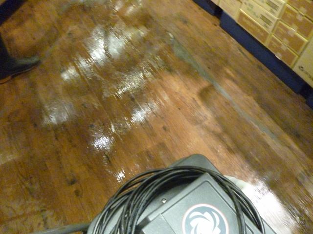 商業施設の清掃