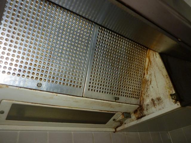 尼崎市でお風呂(浴室)とレンジフード(換気扇)ハウスクリーニング