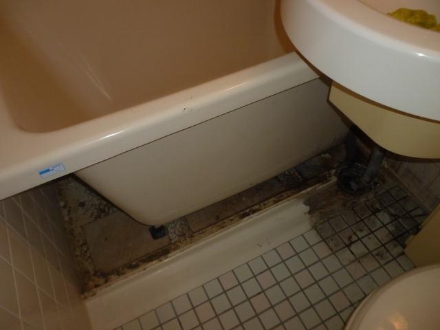 豊中市でお風呂(浴室)掃除