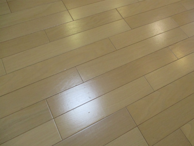 大阪市福島区で床ワックス