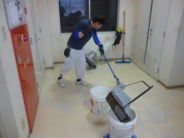 会社事務所掃除