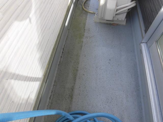 ベランダと窓掃除 生駒市