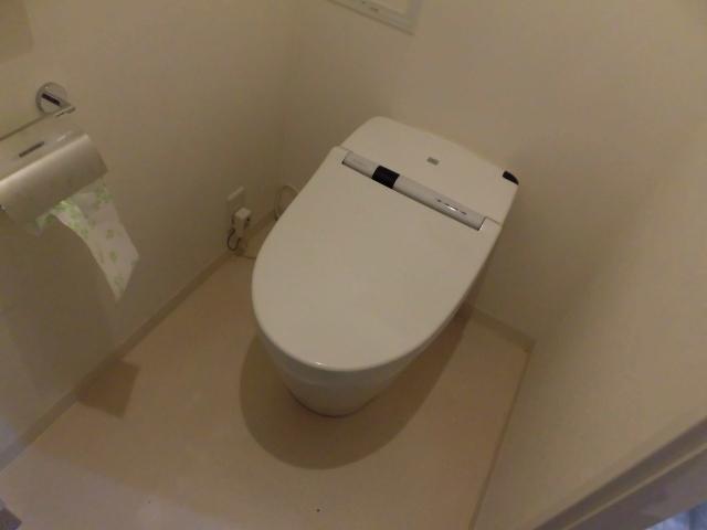 タンクレストイレの掃除