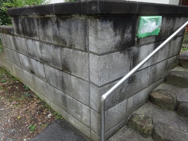 奈良で外壁・外構の高圧洗浄